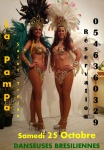 Brazilian dancers at La Pampa on 25th of october